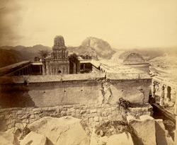 Temple on the Krishnagiri, Gingi [Gingee], South Arcot District